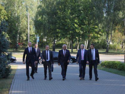 Деловой визит Михаила Мясниковича на «Кузлитмаш»