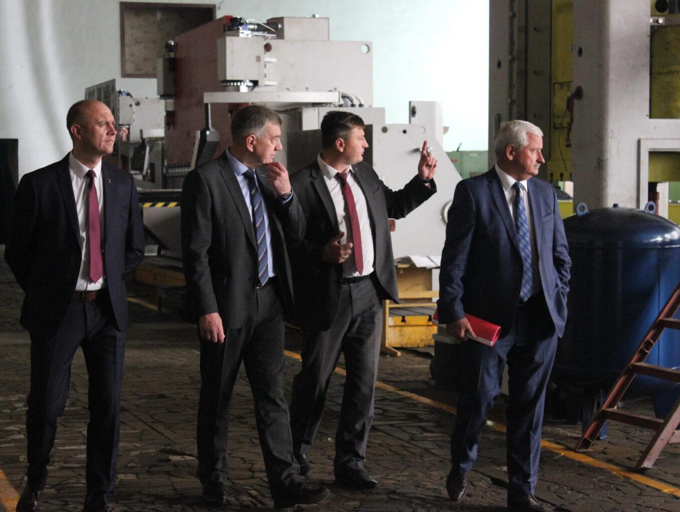 Министр промышленности РБ посетил «Кузлитмаш»